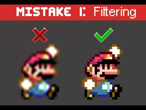 10 most common pixelart mistakes by beginners