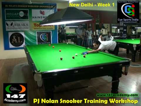 147 Academy - Cue Sports India Snooker Training Workshop Week 1 full video