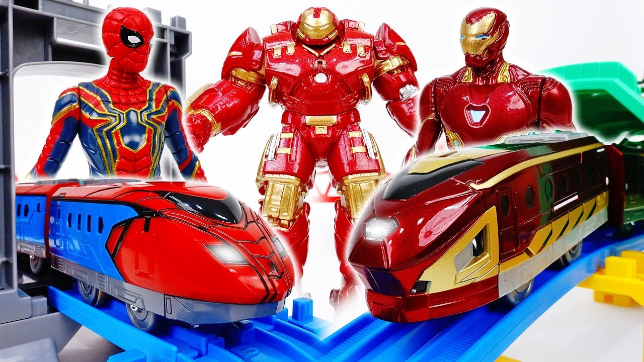 Stay Away From The Avengers Plarail Train~!  - ToyMart TV