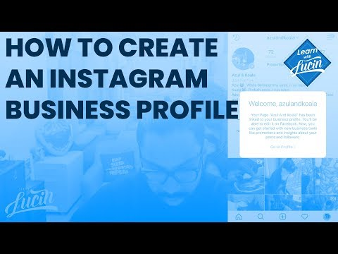 How To Create an Instagram Business Profile