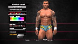 WWE 13 Superstar Threads Randy Orton Classic Unforgiven 2004 Attire