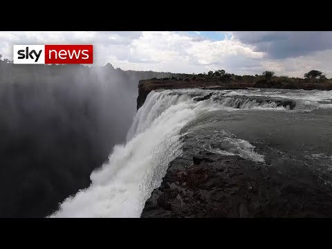 Exclusive: Victoria Falls Is 'at Risk Of Disappearing'