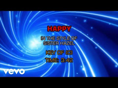 Sister Hazel - Happy (Karaoke)