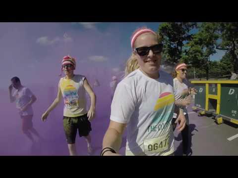 Color Run 2017  l New York, Citi Field