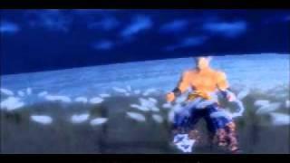 Tekken 5. Heihachi secret cutscene in time attack(stage 7).
