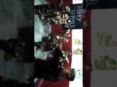 Republic Day 2020 Performance by kids of Blossom Montessori Public School