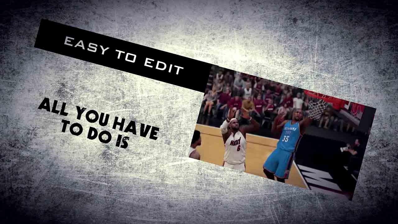 Como Editar Template Editavel Sony Vegas Pro Promo Trailer Youtube