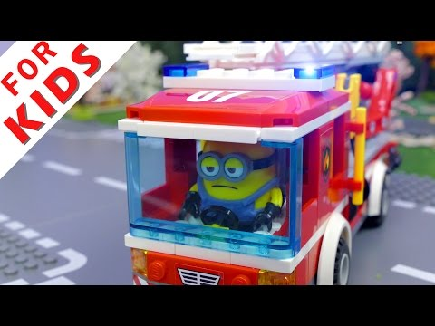 Thumbnail: LEGO Fire Truck Compilation