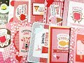 10 Cards 1 Paper Pad | Pebbles My Funny Valentine