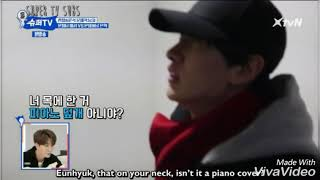 """Download (Super TV) Eunhyuk Yesung love and hate relationship. Eunhyuk """" I am Yesung's emotion controller"""""""