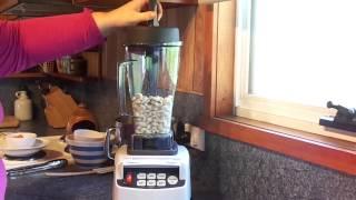 Optimum 9200 High-speed Blender: Making Creamy, Raw, Vegan Alfredo Sauce For Zucchini Pasta