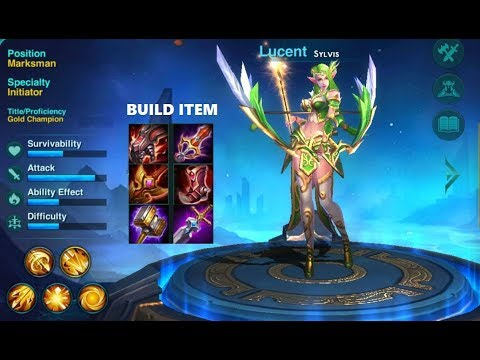 Heroes Arena Push Rank Lucent Sylvis Build Item Pro Youtube