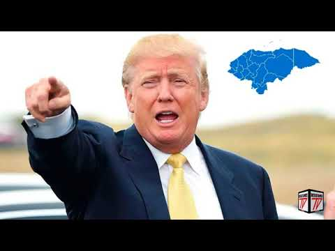 Trump AMENAZA a Honduras con BORRARLO DEL MAPA si sigue Ayudando a Inmigrantes