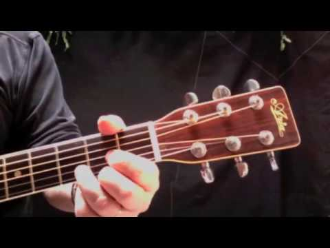 BLOWIN\' IN THE WIND - Guitar Lesson - YouTube