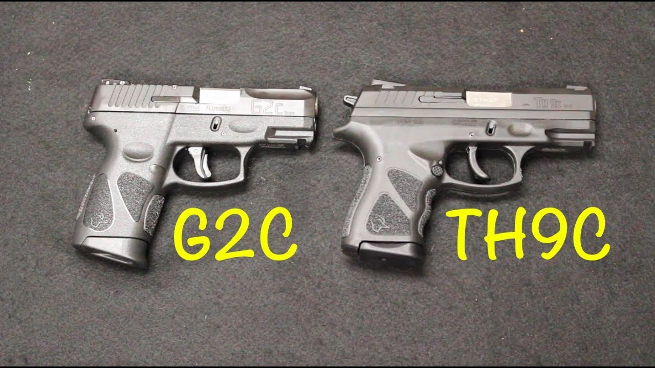 Taurus TH9C vs G2C