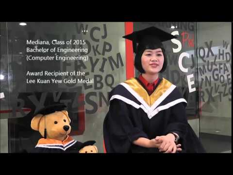 NTU Convocation 2015 - Lee Kuan Yew Gold Medal - YouTube