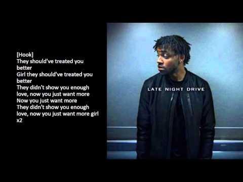 Yo Trane - Late Night Drive (Lyrics)