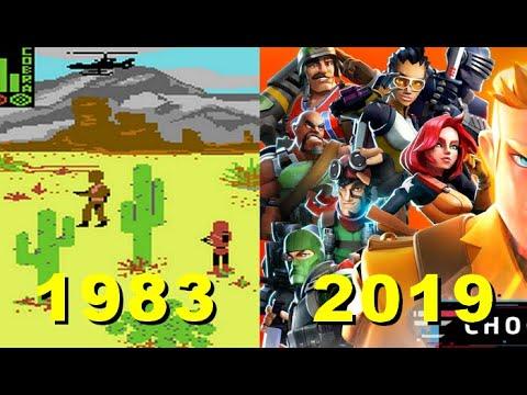 Evolution Of G.I. Joe Games (1983-2019)