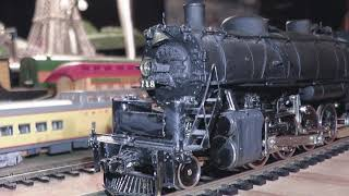 ho brass rare handbuilt 4-8-2 & 2-8-2 pfm united scale models kit bash tetsudo samhongsa