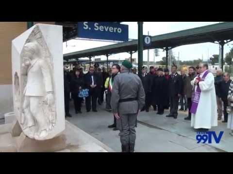 26° anniversario dell'incidente nella Stazione di San Severo