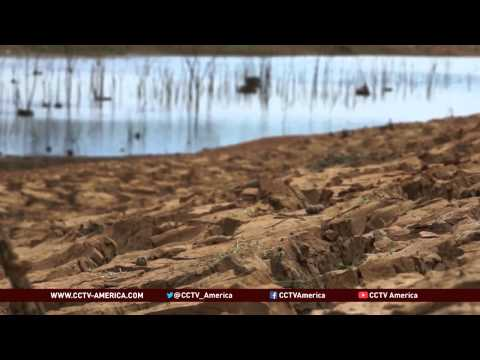 Brazil water shortage  Drought escalates country's water crisis