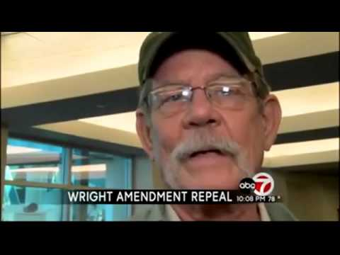 End of Wright Amendment means flight changes