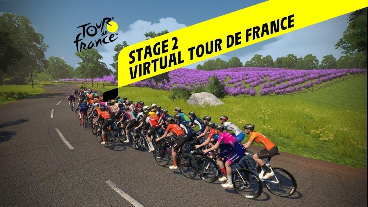 Virtual Tour De France 2020 Live Stage 2 Youtube