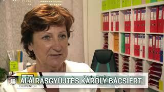 Aláírásgyűjtés Károly bácsiért - 2019-08-03