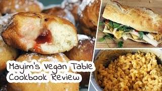 Mayim's Vegan Table by Mayim Bialik | Cookbook Review by Mary's Test Kitchen