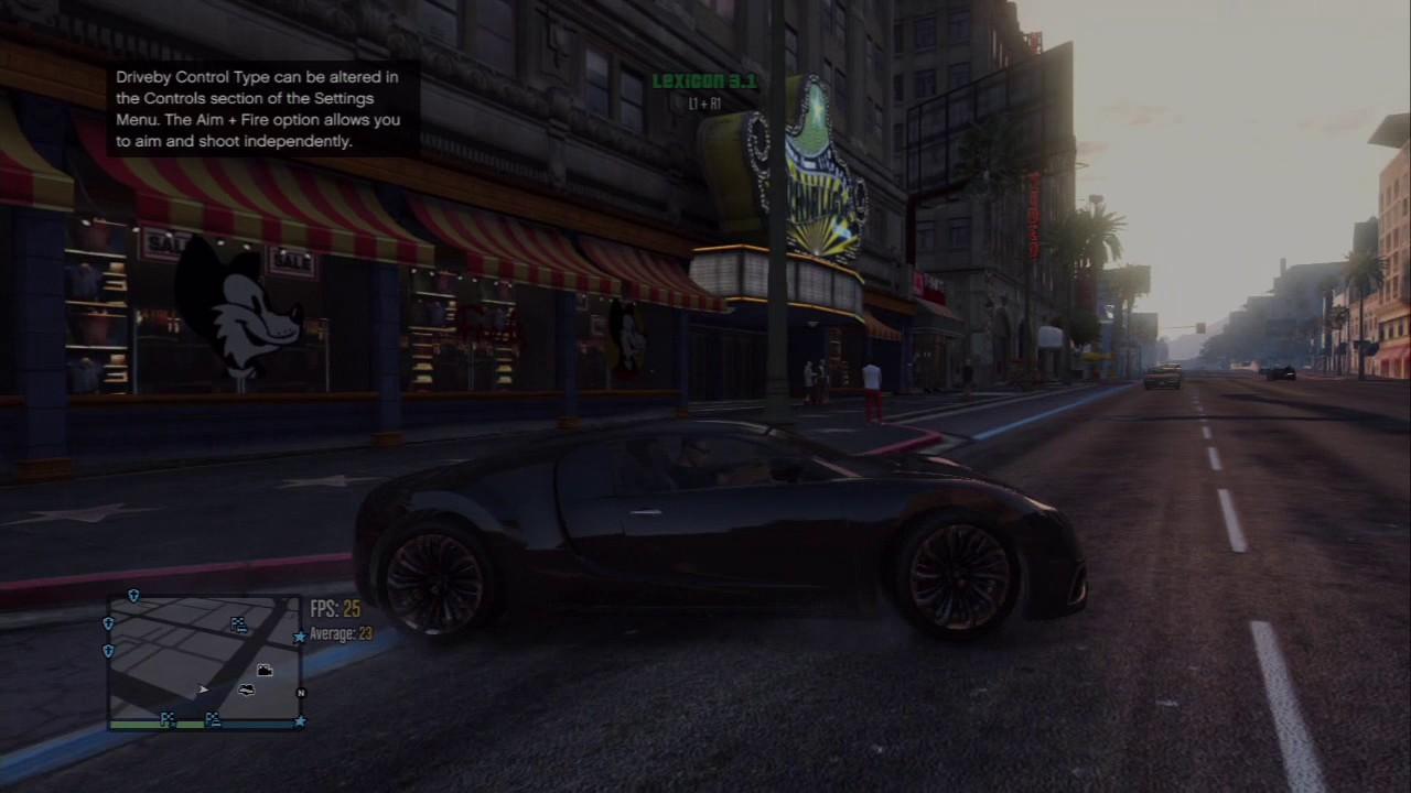 Grand Theft Auto V Lexicon 3 0 by Kryptus PS3 Mod Menu Demo