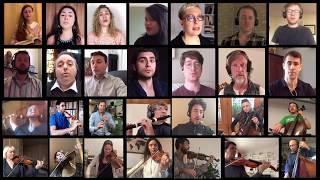 Preview : JS Bach : B Minor Mass :  Ensemble L'Harmonie des saisons : 30 socially distant cellphones