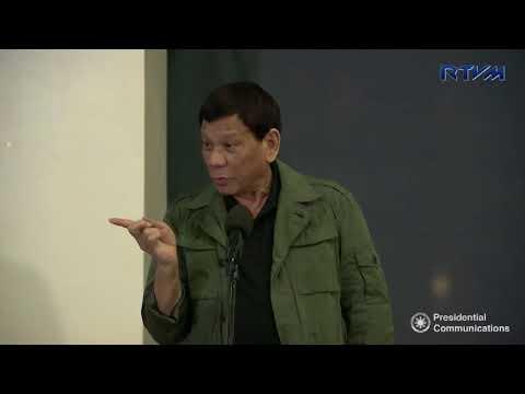 Dinner hosted by Presidential Assistant for Visayas Michael Dino (Speech) 2/12/2018