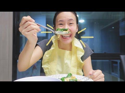 เมอาพาเข้าครัว 'ใบเหลียงผัดไข่ ง่ายจริงไม่จกตา'   MayyR