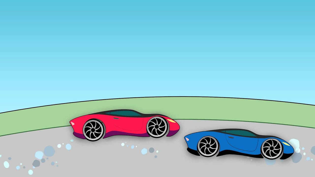 Top Car Animation For Kids Race Sports Cars Youtube