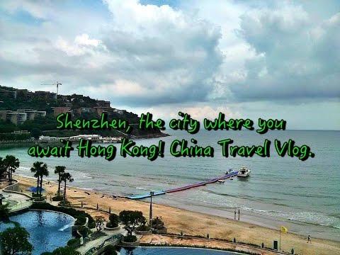 Shenzhen, the city where you await Hong Kong! China Travel Vlog.
