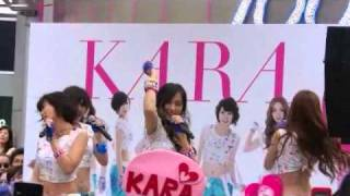 "Korean girls group sings their debut single in Japan ""Mister(Japane..."