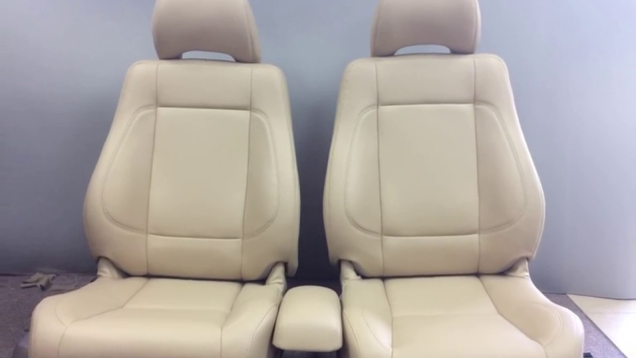 How To Re Upholster A Car Seat