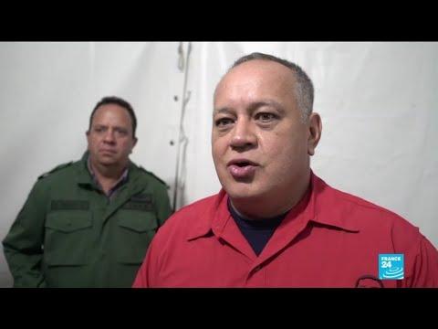"""Pour le numéro 2 du Venezuela, l'Occident """"n'a rien gagné"""" à soutenir Juan Guaido"""