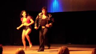 4th Holland Summer Salsa Congress Saturday Eddie Torres & Shani Talmor 1st Performance