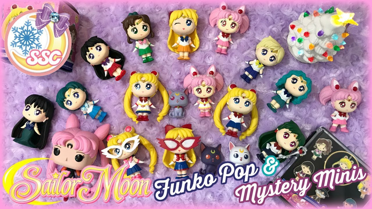 FUNKO MYSTERY MINIS SAILOR MOON WITH EXCLUSIVE SAILOR MOON