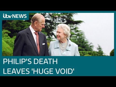 Prince Philip's death leaves a 'huge void' for the Queen   ITV News