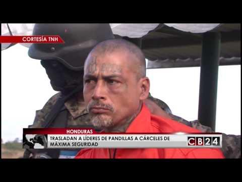 En Honduras siguen trasladando pandilleros a cárceles de máxima seguridad