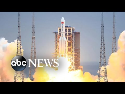 Out-of-control Chinese rocket set to crash on Earth this weekend l GMA