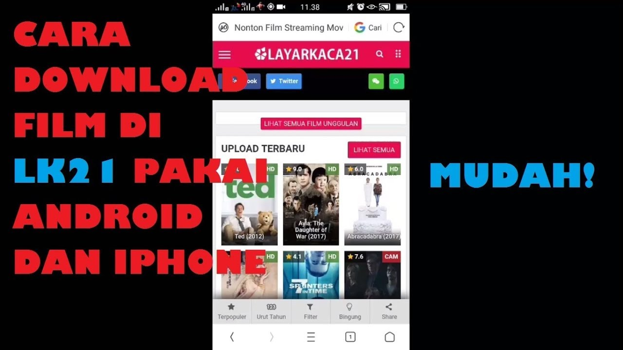 di film android hp download cara youtube