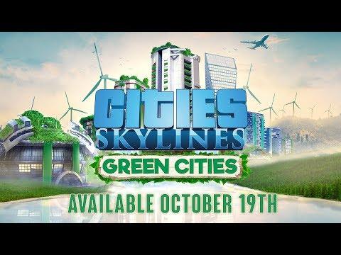 Cities: Skylines - Green Cities - Release October 19th