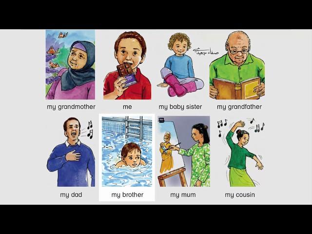 الصف الثاني إنجليزي الفصل الثاني الصفحة 56 و57