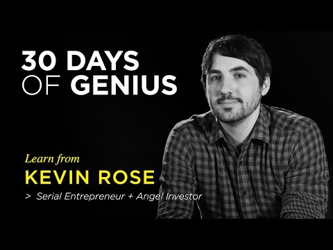 Kevin Rose on CreativeLive | Chase Jarvis LIVE | ChaseJarvis