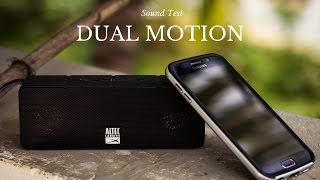 Altec Lansing Dual Motion Bluetooth Speaker - Sound Test