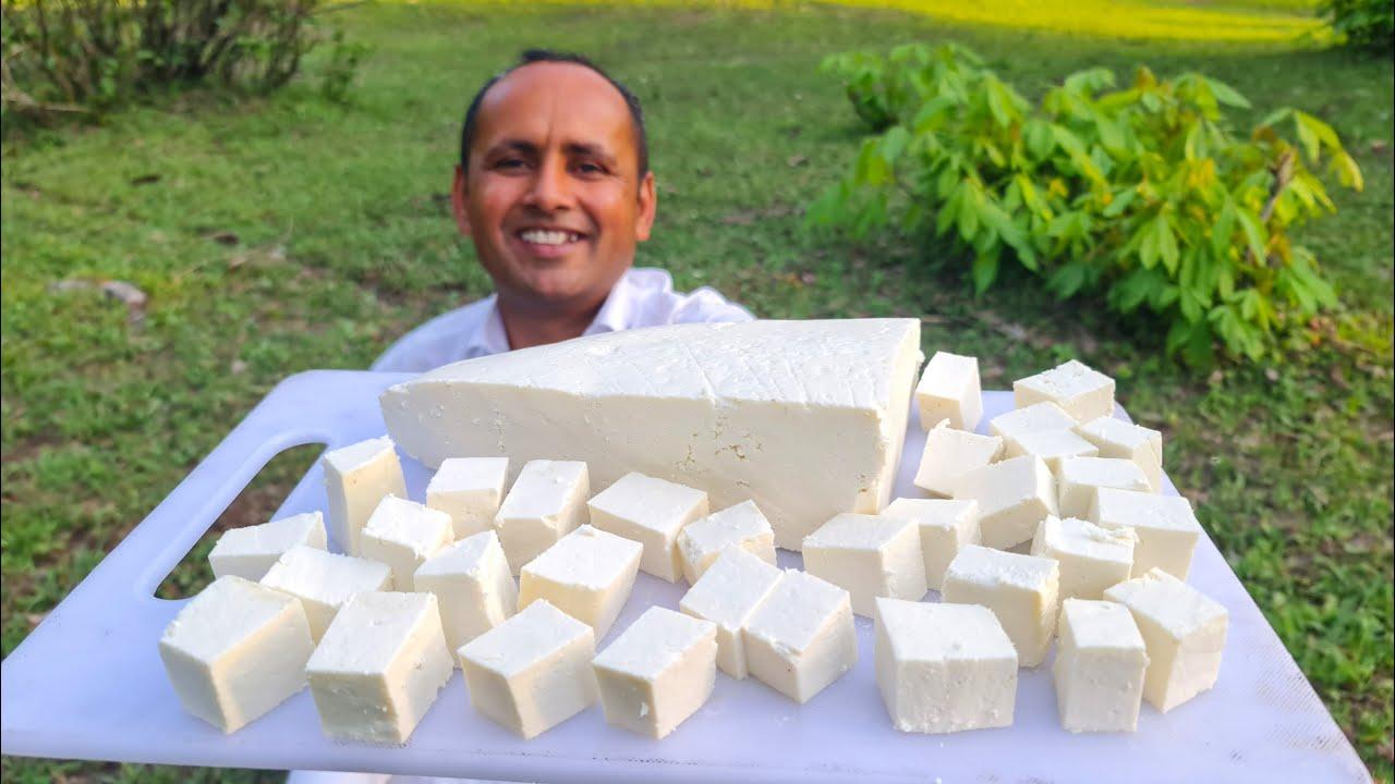 Paneer Curry Recipe   Kashmiri Style   Paneer Gravy Curry   Mubashir Saddique   Village Food Secrets
