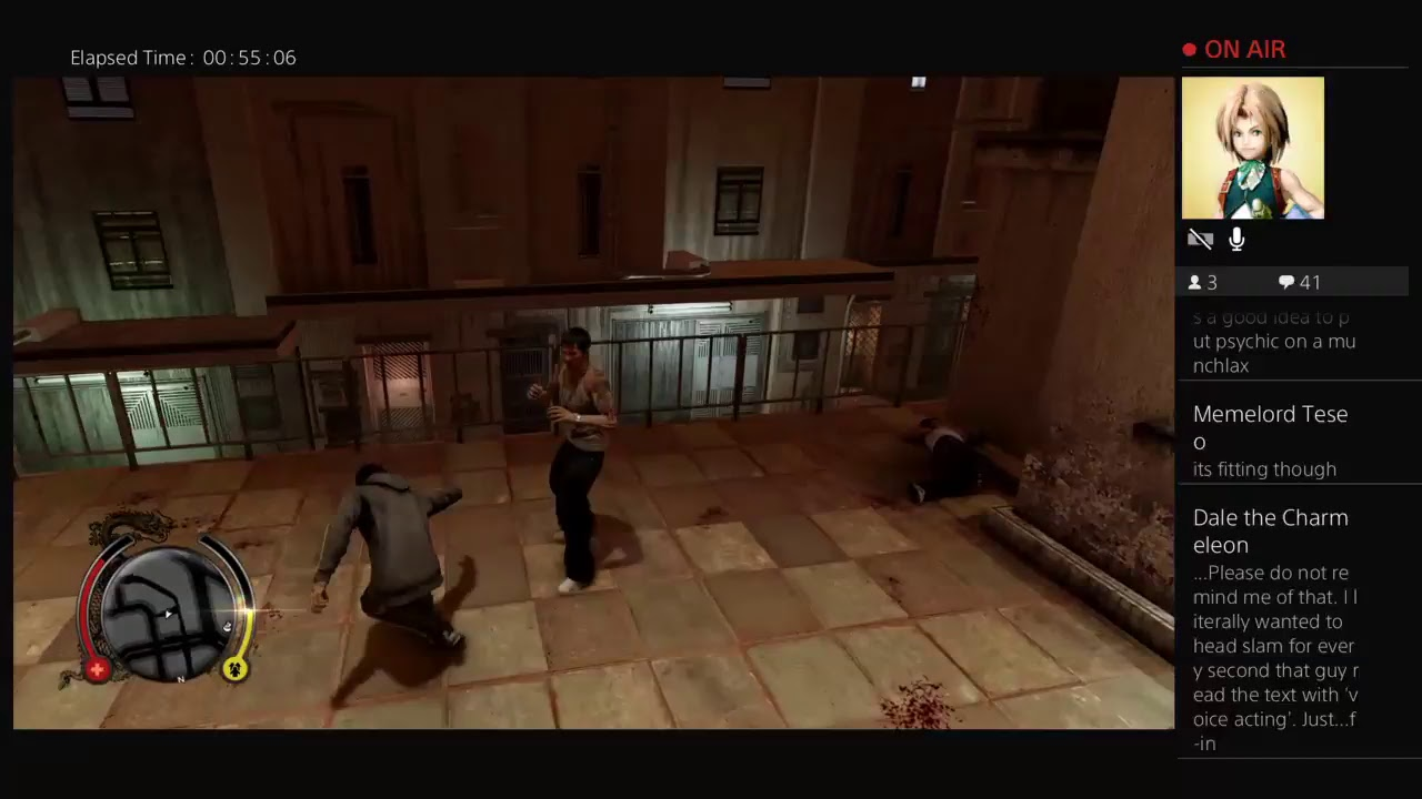 Sleeping Dogs Stream 2 Part 2 Gg Game Youtube